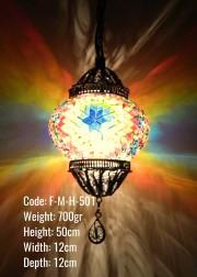 Mozaik Asklı Lamba - F-M-H-501