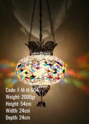 Mozaik Askılı Lamba - F-M-H-504