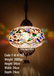 Mozaik Askılı Lamba - F-M-H-505