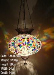 Mozaik Askılı Lamba - F-M-H-506