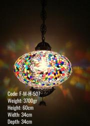 Mozaik Askılı Lamba - F-M-H-507