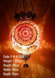 Mozaik Askılı Lamba - F-M-H-508