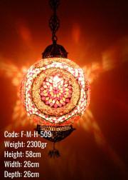Mozaik Askılı Lamba - F-M-H-509