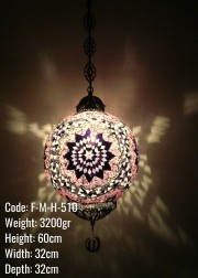Mozaik Askılı Lamba - F-M-H-510