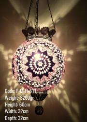 Mozaik Askılı Lamba - F-M-H-511