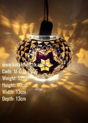 Mozaik Cam Lamba Cesitleri No:2 Boy - M-G-O-1606