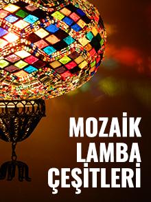 Mozaik Cam Lamba Çeşitleri