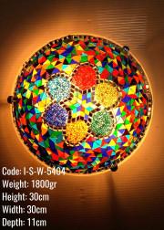 30 luk Mozaik Plafonyer Metal Mozaik Lamba / Duvar Lambasi Otantik Aplik - I-S-W-5404