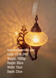 Otantik No:3 Boy Aplik Yukarı Yönlü / Duvar Lambası - I-S-W-5407