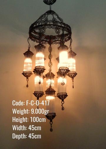Pyrex Üfleme Lamba 10 lu Karışık Set - F-C-O-417
