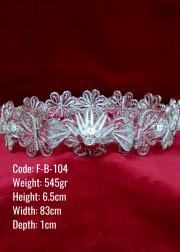 El Emeği Bakır Telkari Orijinal Gümüş Kaplama Orta Boy Kemer - F-B-104